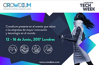 Crowdium presente en el London Tech Week 2017